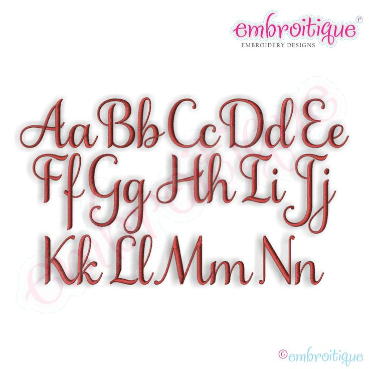 Best embroidery options fonts alphabets images on