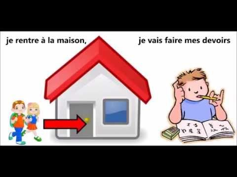 Ma routine - Daily routine song in French - YouTube