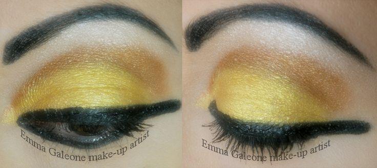 Ancient Egypt inspired make-up