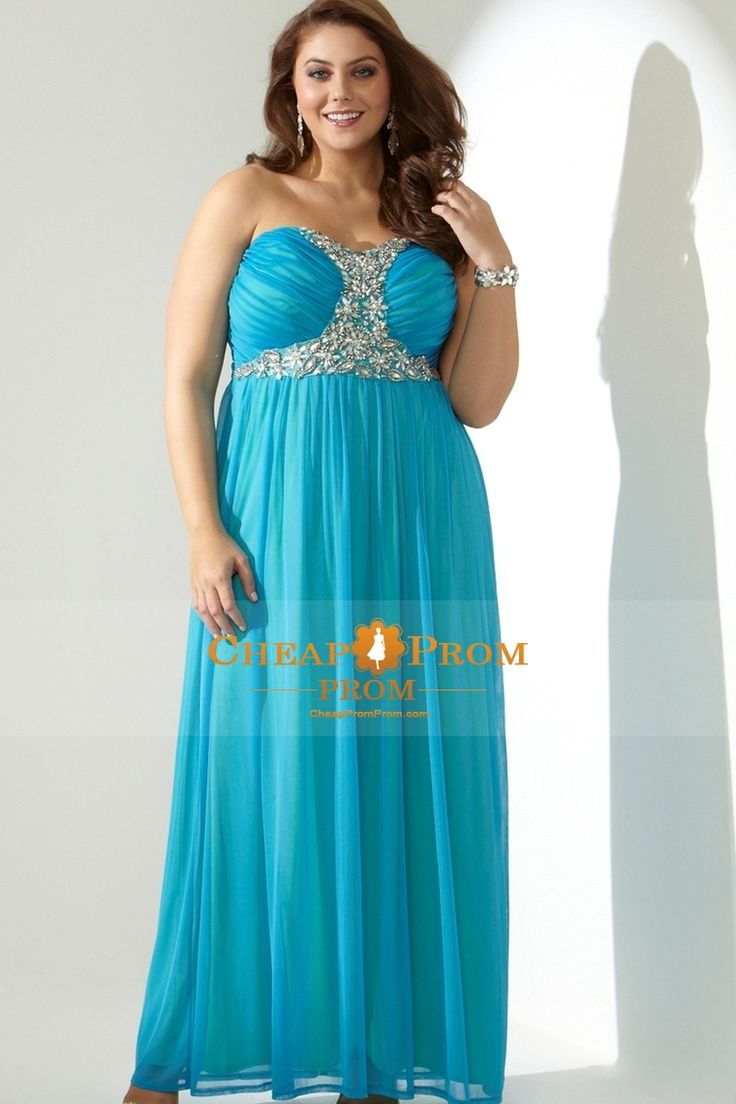 55 best Plus size prom dresses images on Pinterest | Party wear ...