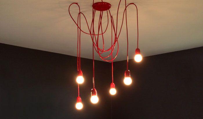 Homens da Casa: Luminária Pendente - Faça você mesmo