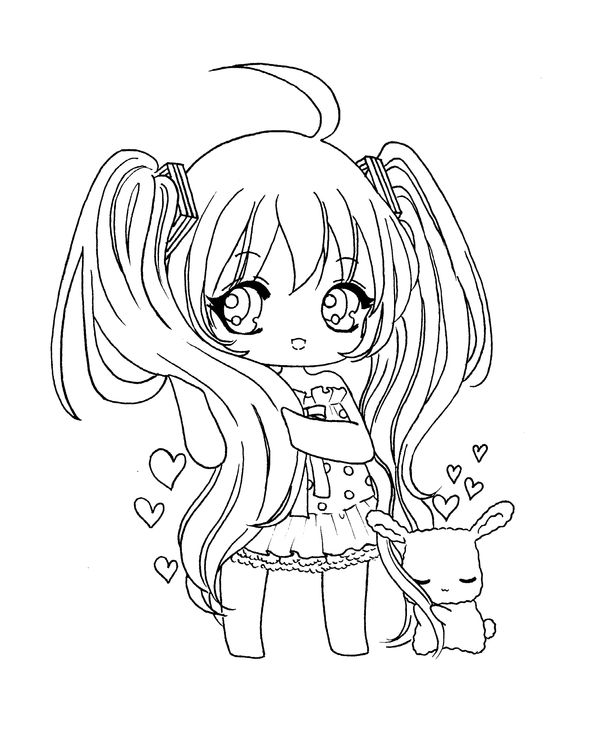 The 38 best Chibi images on Pinterest | Coloring books, Colouring ...