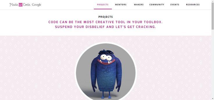 Google: Made with Code Educational game #HomeEducation #HomeSchool