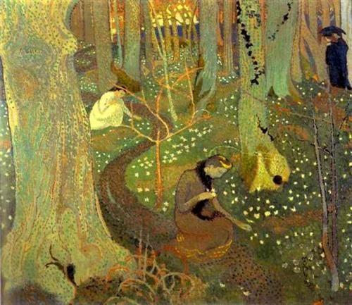 Maurice Denis – Manhã de Páscoa ou Mistério da Páscoa, 1891