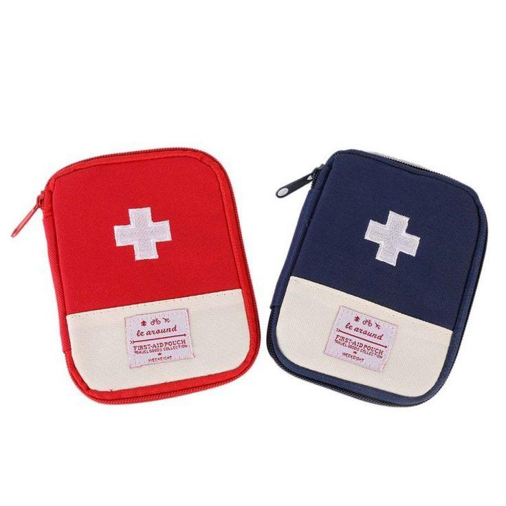 屋外ハイキングファーストエイド救急医療サバイバルキットラップギアバッグにハント小旅行医学キット