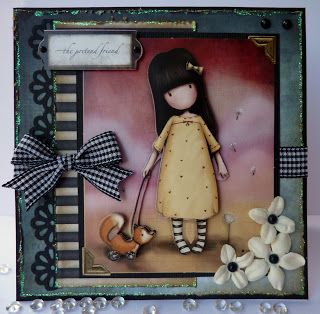 Jane's Lovely Cards : Everybody Art challenge meets decoupage no 3