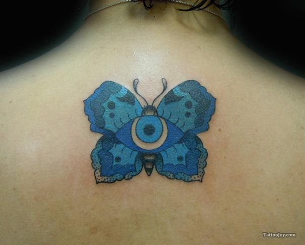 Evil Eye Tattoo Pictures | Evil Eye Butterfly Tattoo