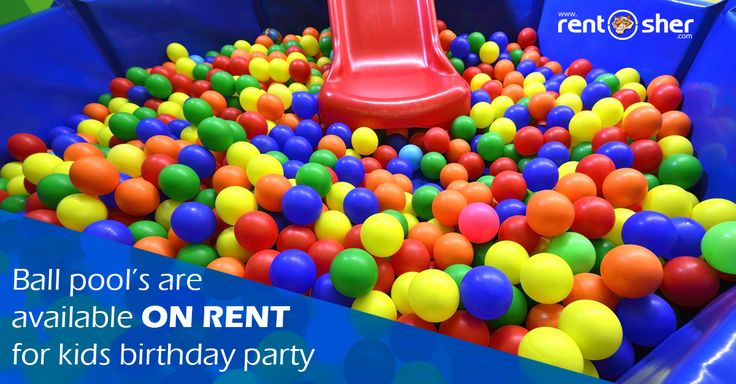Let all the kids enjoy completely at #Birthday parties with RentSher's Grand Play Area setup with products like #ballpits, #Rollers, #Slides, #Ride-ons, #SeeSaw, Baby Tunnels, Hopper Balls, Cotton Candy vending Machine, Sweet Corn vending machine, Magician, Artists and many more things on rent at affordable cost across #Bangalore. Visit us today for more details: http://bit.ly/2ifubW4