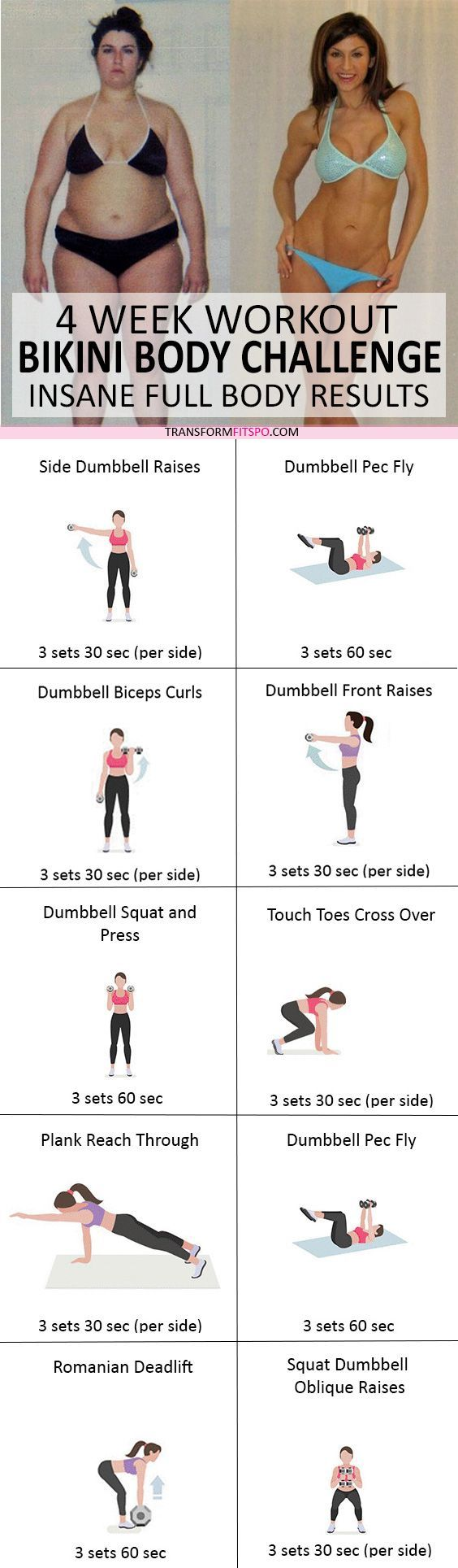 #womensworkout #workout #femalefitness Repin and share if this workout gave you a bikini body! Click the pin for the full workout.