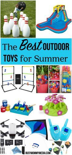 The Best Outdoor Toys for Summer | These are some AMAZING outdoor toys for summer including outdoor games, outdoor water toys, and outdoor toys for teens!