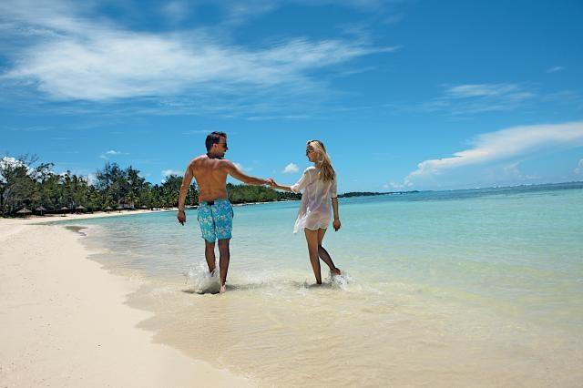 Romantic Walk on the Beach - Ambre Resort