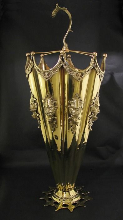Art Nouveau Umbrella Stand @Brenda Franklin Franklin Franklin Myers Myers { SteamCircus.com }