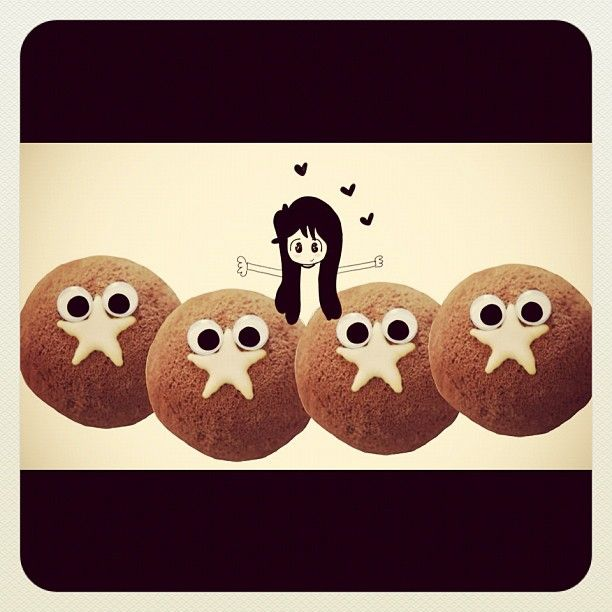 I love moon cake ❤  #mooncake #'pandistelle #barilla #gikitchen