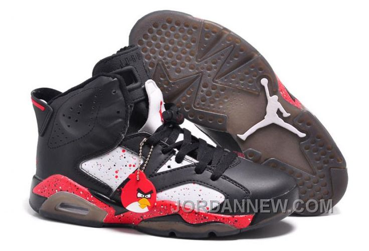"""http://www.jordannew.com/mens-air-jordan-6-retro-custom-angry-birds-for-sale-super-deals.html MENS AIR JORDAN 6 RETRO CUSTOM """"ANGRY BIRDS"""" FOR SALE CHEAP TO BUY Only 85.37€ , Free Shipping!"""