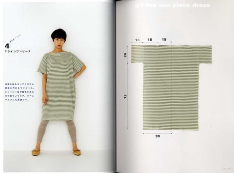 Yoshiko Tsukiori's Straight Stitch Apron and Apron Dresses – Japanese Craft Book MM