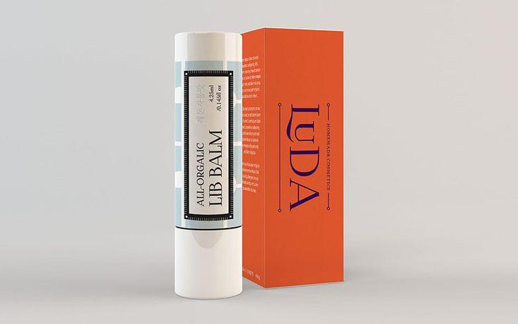 Natural Homemade Cosmetics Brand Design