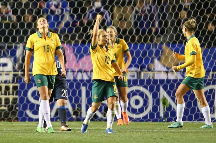 See the images that will live long in the memory from the Westfield Matildas' successful Rio Olympics qualifying campaign in Japan.