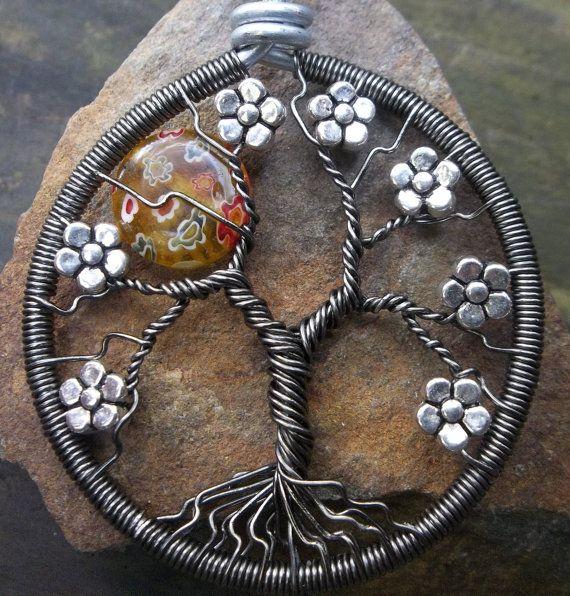 Sunshine Daydream Tree of Life by alexart on Etsy, $25.00