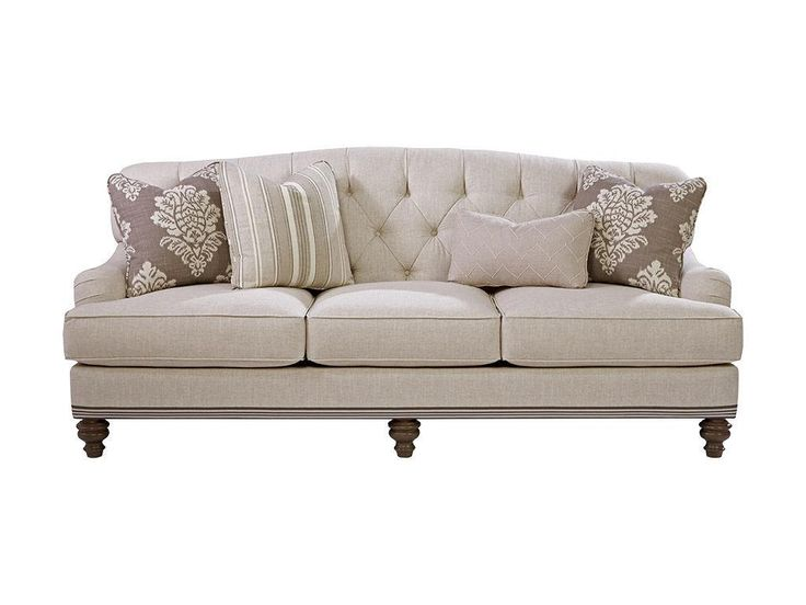 Paula Deen by Craftmaster Living Room Sofas P744950BD - CraftMaster - Hiddenite, NC