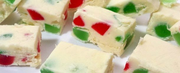 Tastee Recipe Country Christmas Fudge Made With Green And Red Cherries - YAY! - Page 2 of 2 - Tastee Recipe