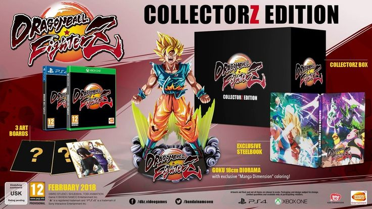 Image result for dragon ball fighters collectors edition