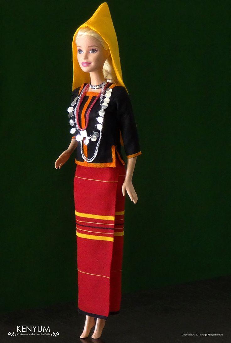Barbie in Adi attire