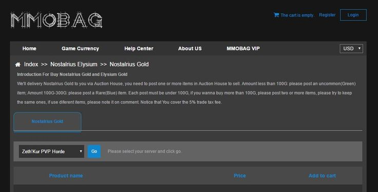 Cheap Nostalrius PVE Gold, Nostalrius PVP Gold, Buy Elysium Gold With Huge Stock And Low Prices, Fast Delivery With Live Chat Support! #NostalriusPVPGold https://www.mmobag.com/nostalrius-gold