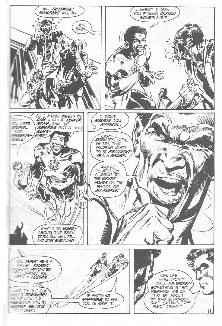 Green Lantern In Beware My Power Penciled By Neal Adams And Inked