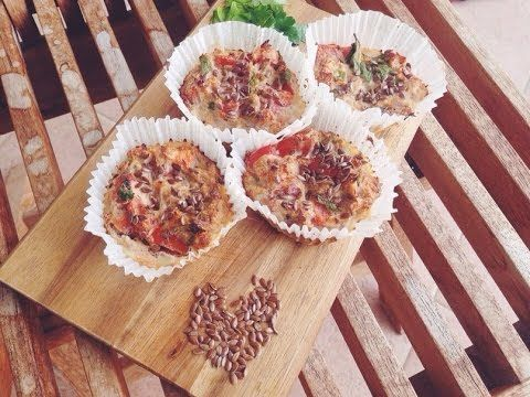 Правильное питание рецепты/Маффины из тунца.пп - YouTube