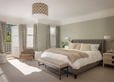 Benjamin Moore Spanish Olive. Slight hint of green. Looks stunning mixed with the different neutrals.