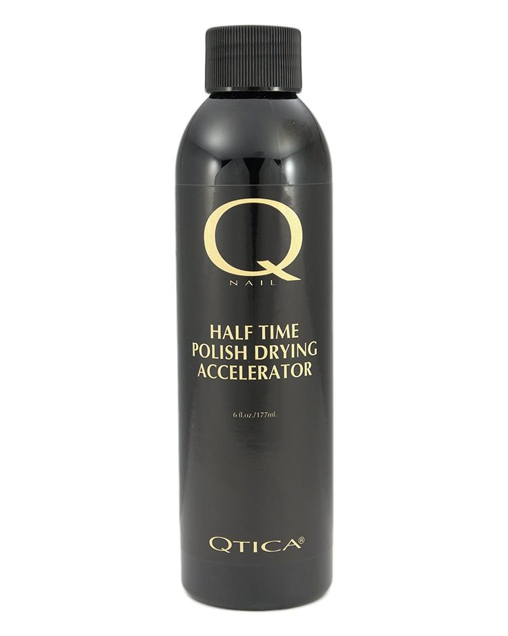 Qtica Half Time Polish Drying Accelerator 6 Oz Refill ** Click image for more details. (This is an Amazon Affiliate link and I receive a commission for the sales)