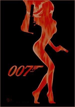 Bond Theme Decor