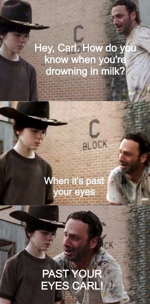 Walking dead dad jokes