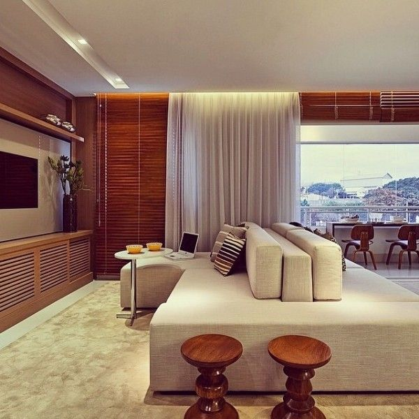 25 melhores ideias de persianas da sala de estar no for Cortinas de persiana