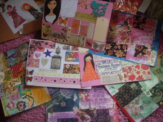Pack of all the collection of a pink dreamer's collage by eltsamp, $56.00
