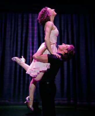 Dirty Dancing :) Watched like a million times. I think all girls can relate to wanting Patrick Swayze.