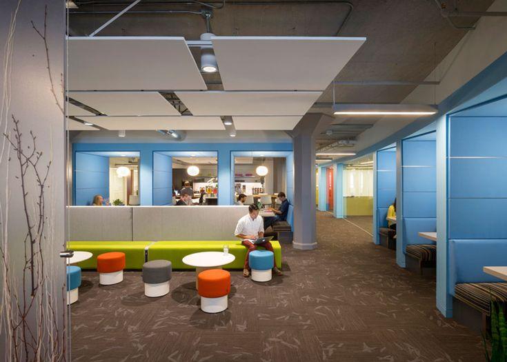 Inilah Desain Interior Kantor Pusat Twitter Yang Baru