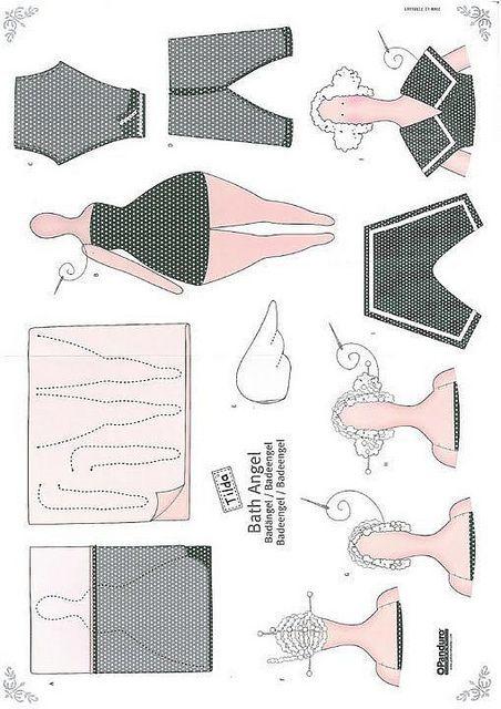 tilda baby pattern | ornitorenk handmade