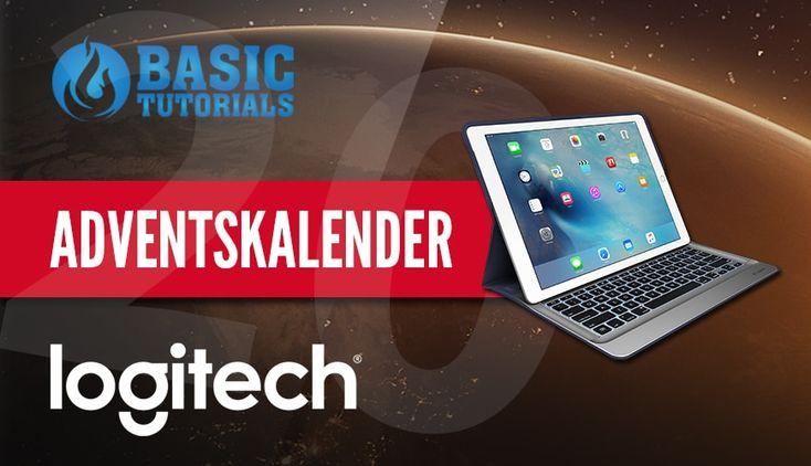 #Adventskalender: Logitech Create Tastatur-Case #Gewinnspiel