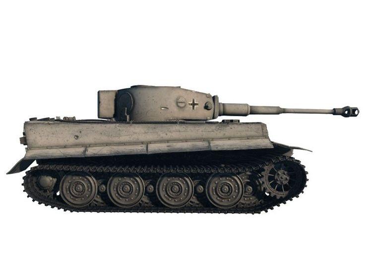 Model Italeri 36502 Tiger I World of Tanks, model do sklejania niemieckiego czołgu Tiger I z okresu WWII.