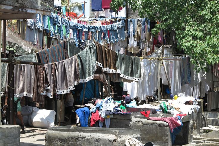 Consider washing 100+ shirts by hand for less than $10.00 per day. This is one of the largest outdoor laundries in the world