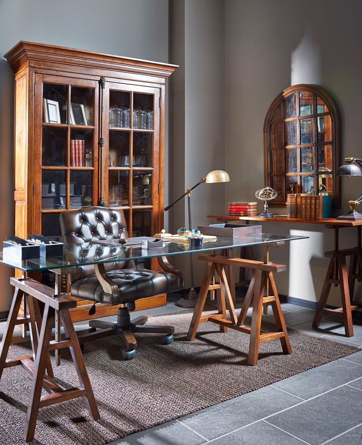 Club Vintage Interiors työhuone