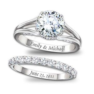 """This is more of what I had in mind... Funny how it says Emily:) But I would want it to say """"Bubby and Emmy"""" and then whatever day we get married on.... Do u like this?"""