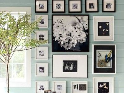 How to create a photo wall in 5 easy steps. #home #diy http://www.ivillage.com/how-hang-photo-wall/7-a-534068