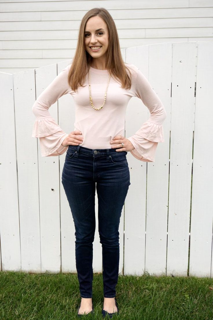 Baby Pink + Bell Sleeves | Ethically made, eco-friendly outfit! | Fairly Southern