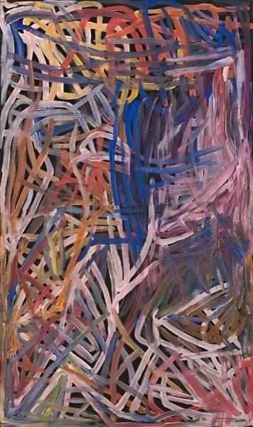 'Kame Colour', 1996, 96A20, 90cm x 150cm - Delmore Gallery