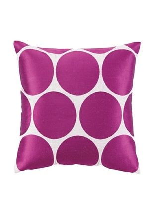 53% OFF Peking Handicraft Erin Pillow, Pink