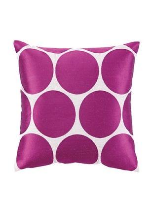 53% OFF Peking Handicraft Erin Pillow, Pink