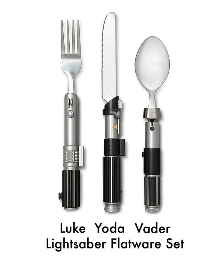 Star Wars Lightsaber Flatware Set - STAR WARS LIGHTSABER FORK, SPOON & KNIFE SET #DisneyStarWars #JoSam1129 #Lightsaber #LightsaberFlatwareSet #STARWARS #LightsaberFORK #LightsaberSPOON #LightsaberKNIFE