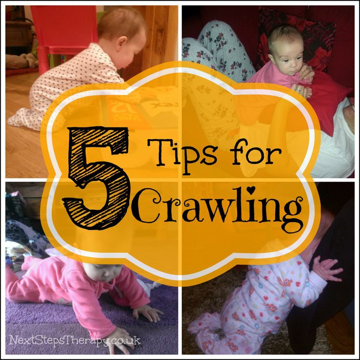 how to help your baby learn to crawl